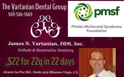 Donate to the Phelan-McDermid Syndrome Foundation
