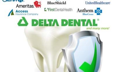 We Accept Delta Dental Insurance