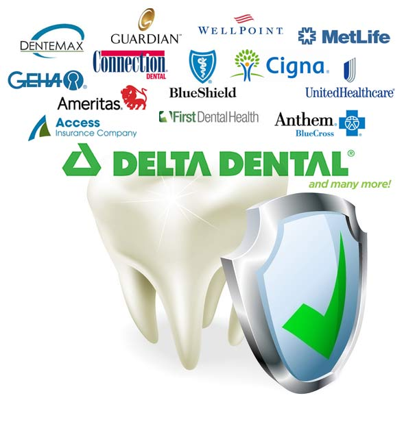 We Accept Delta Dental Insurance