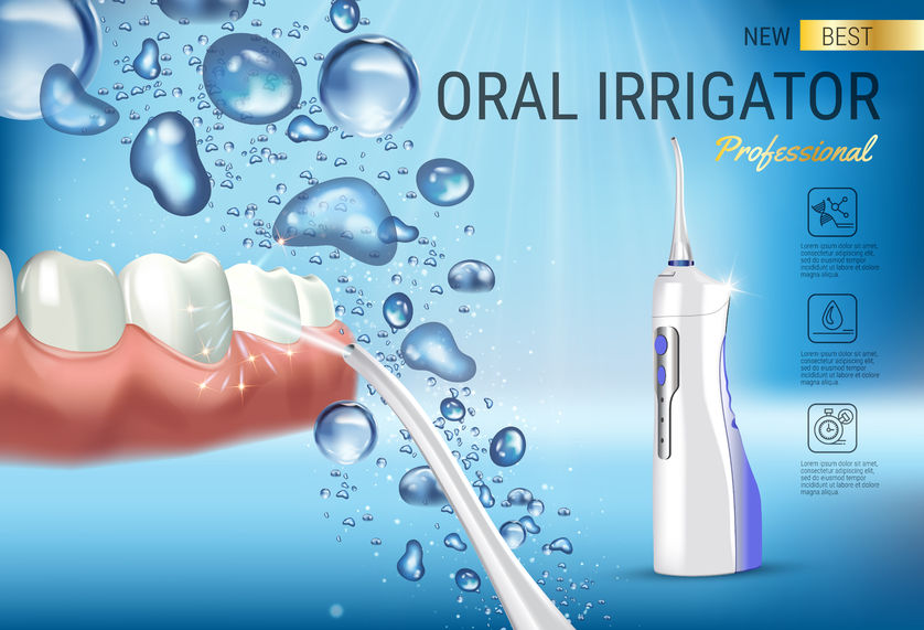 Can a Water Pick help improve your gums?